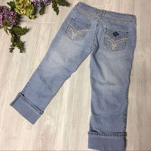 """Angel Capri Jeans """"Bling"""" Size 5"""